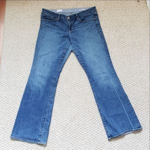 Gap sexy boot denim jeans size 14